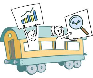 vagón transparencia