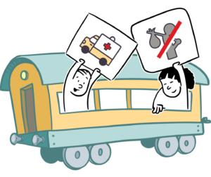 vagón necesidades