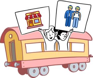 vagón trabajo